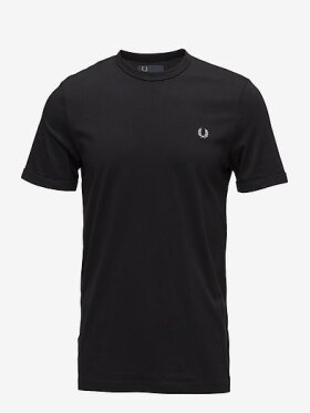 Ringer T-Shirt Black