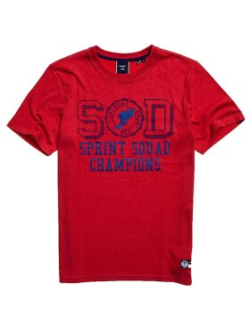 T&F TEE Rouge Red Marl